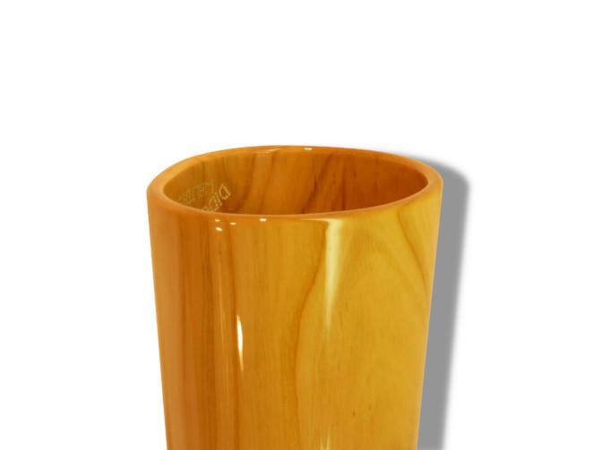Original Woodslide Didgeridoo, teilbar, Holz: Kirsche, Design natur, Ansicht Bellend Original Woodslide Didge, Seperable, Wood: Cherry , Design: natur, View: Bellend