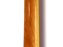 Didgeridoo Woodslide in der Gesamtansicht. Das Design ist Roteiche. In den Tonlagen C - G. Bestell-Nr. 078 General View from original Woodslide Didge with Design Red Oak. Pitches c - G. Order No. 078