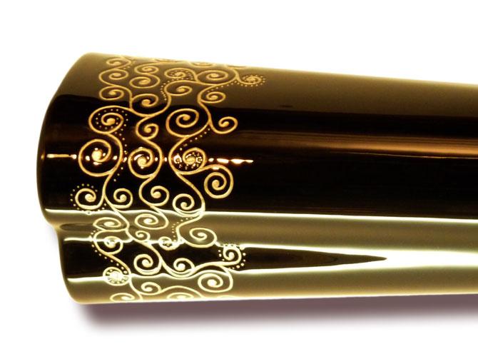 "Woodslide-Didgeridoo - Silverline ""Luna"" (Detail-05)"