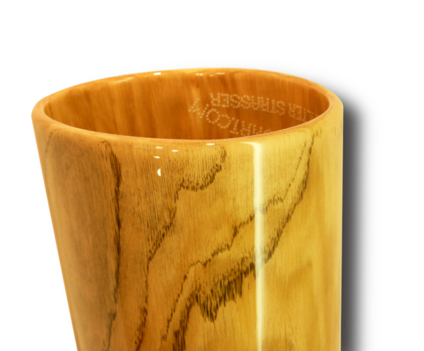 Woodslide Didgeridoo, Holz: Eiche, Design: natur, Ansicht: Bellend. Woodslide Didge, Wood: Oak, Design: nature, View: Bellend