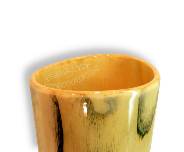 Original Woodslide Didgeridoo, Holz: Esche Design natur, Ansicht Bellend. Original Woodslide Didge, Wood: Ash Tree, Design: natur, View: Bellend.